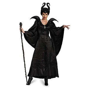 Disguise Maleficent Black Christening Gown