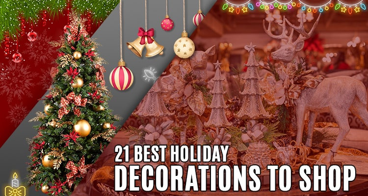 21 best holiday decorations to shop