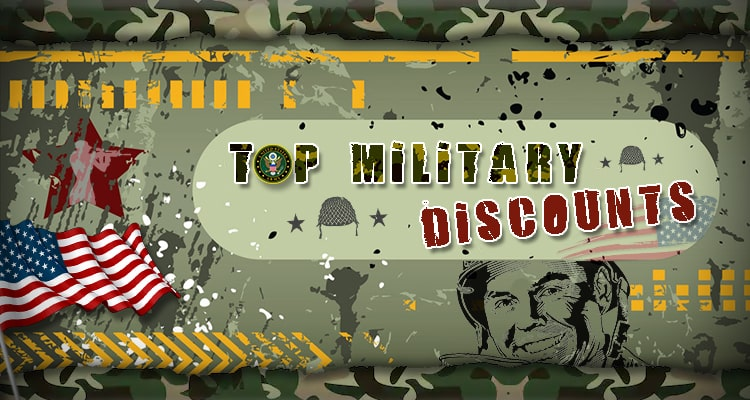 200+ Top Military Discounts in 2019