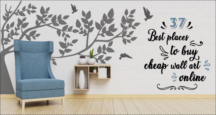 best places to buy cheap wall art