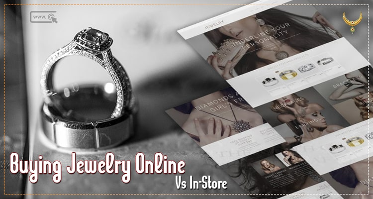 jewelry shopping online vs in store