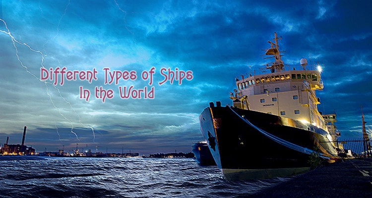 types of ships in the world