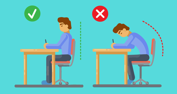 How To Sit At A Desk To Avoid Back And Neck Crick