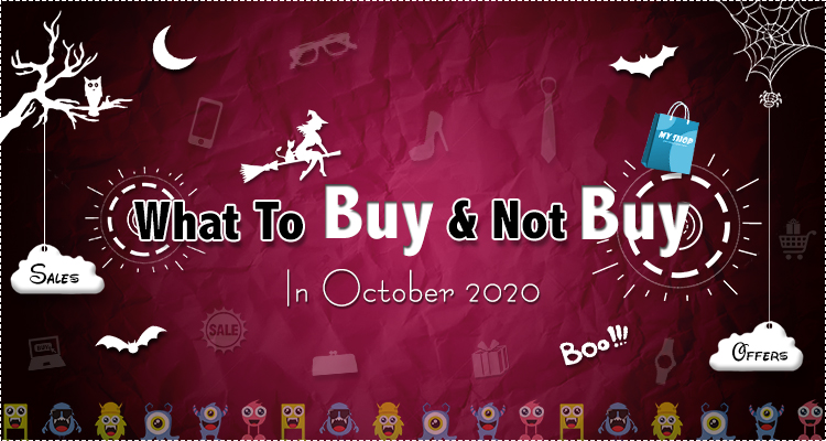 shopping guide for october
