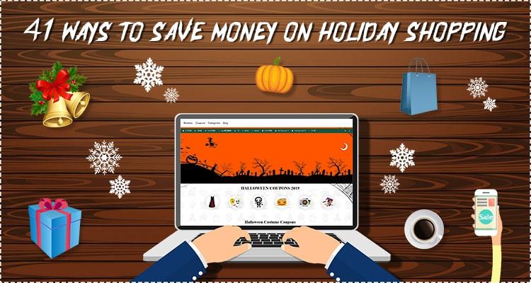 save money on holiday shopping