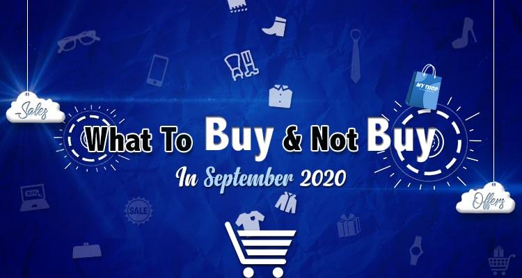 Shopping Guide for September