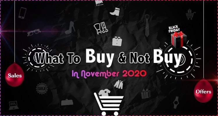 November Shopping Guide