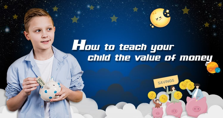 how to teach child the value of money