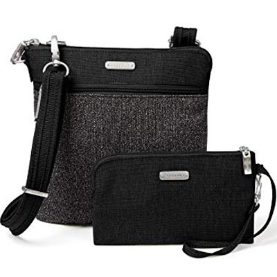 anti theft slim crossbody bag