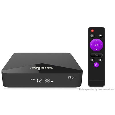 authentic magicsee n5 quad core oreo tv box deal pack