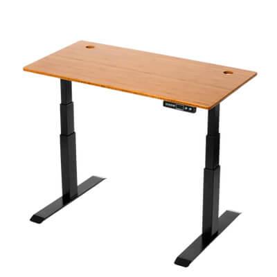 bambo standing desk