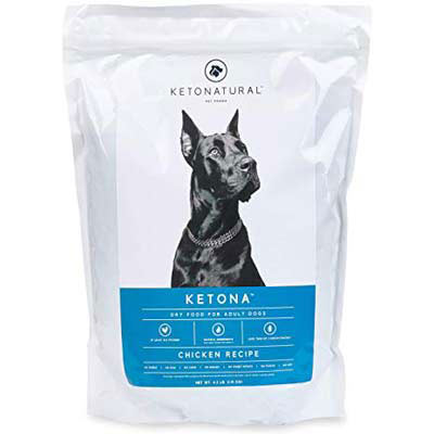 ketona dry food for adult dog chicken recipe 16.8 pound