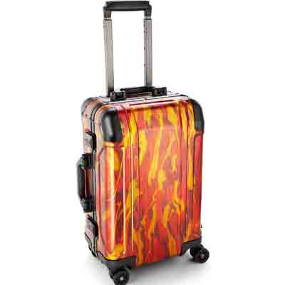 geo meteor limited edition aluminum carry on case deal case