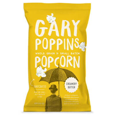 gourmet flavored popped popcorn