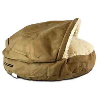 jeffers pet snoozer luxury orthopedic cody cavepet bed deal pack