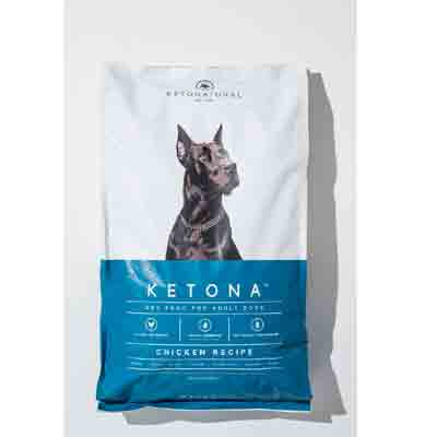 ketona dry food for adult dog chicken recipe 16.8 pound deal pack