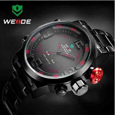 mens led analog wrist watch deal pack