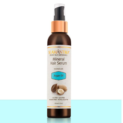 mineral hair serum argan oil