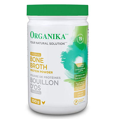 organika bone broth original beef powder deal pack