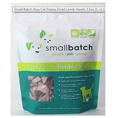 pets warehouse small batch dog cat freeze dried lamb hearts deal pack
