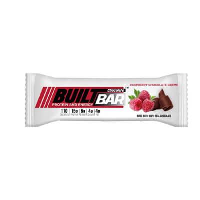 raspberry protein bar