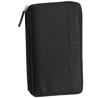 samsonite collection rfid travel folio w battery deal pack