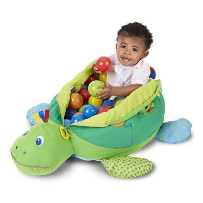 melissa doug turtle ball pit