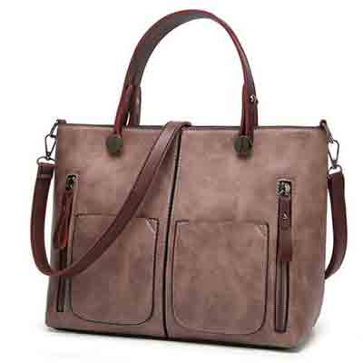womens vintage high fashion casual shoulder bag deal pack