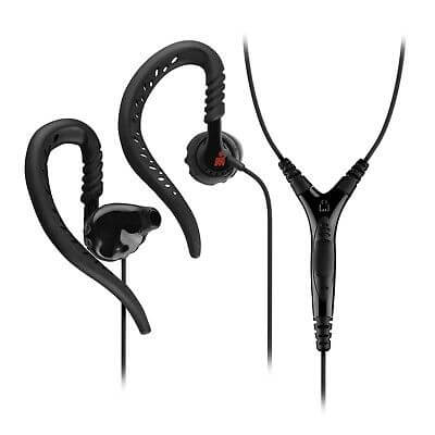 yurbuds sports earphones limited edition focus in ear headphones black red deal pack