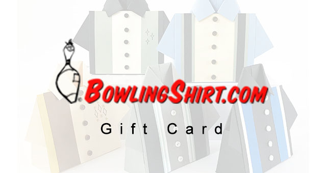 Bowling Shirt Gift Card