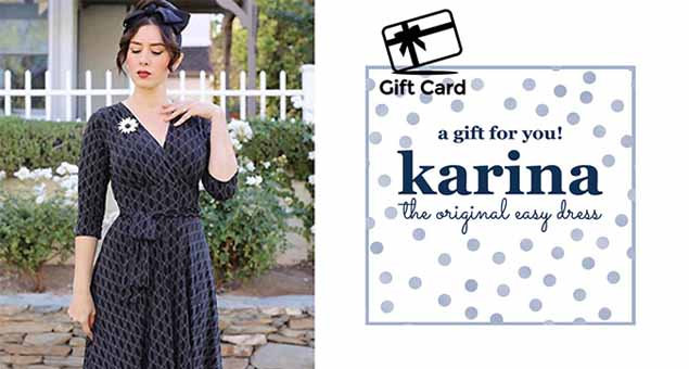 Karina Dresses Gift Card