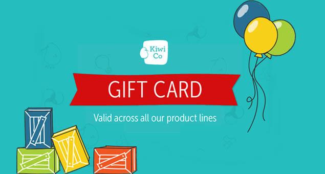 KiwiCo Gift Card
