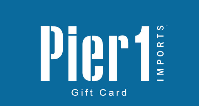 Pier1 Gift Card