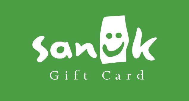 Sanuk Gift Card