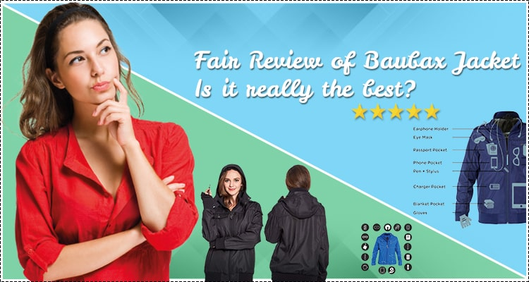 review of BauBax jacket 2020