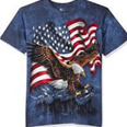 bald eagle shirt tie dye talon american flag t shirt