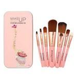 Bioaqua Makeup Brushes Set Make Up Tools Kit - Pink