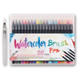 watercolor brush pens 20pcs