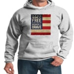 Usa Hoodie Home Of The Brave